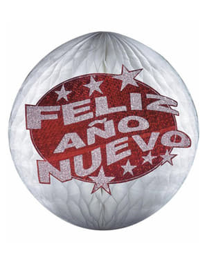 Happy New Year Paper Lantern (25cm)