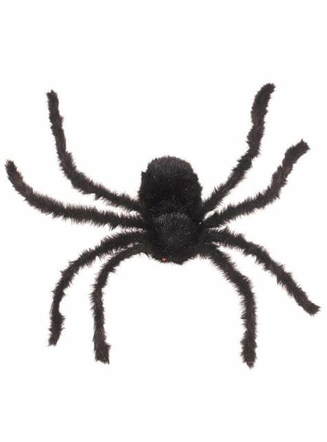 Schwarze Spinne 76 cm