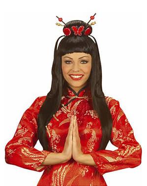 Chinesen Perücke