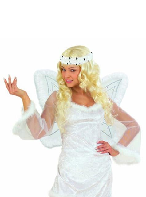Ensemble d'ange ailes et auréole
