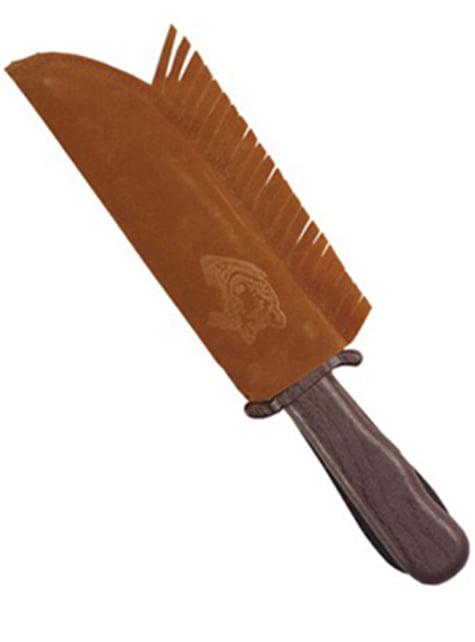 Cuchillo indio con funda - para tu disfraz