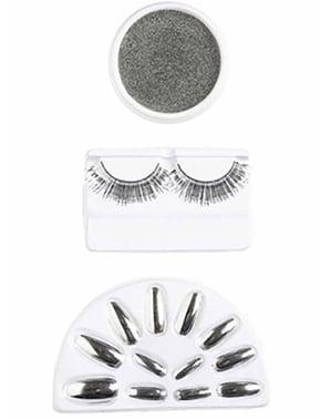 Ögonfransar och Naglar i Silver