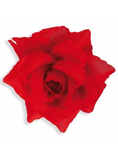 10cm kokoinen ruusu