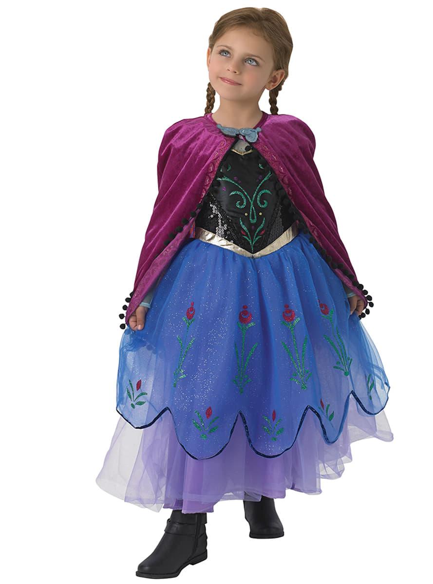 anna frozen premium child costume express delivery