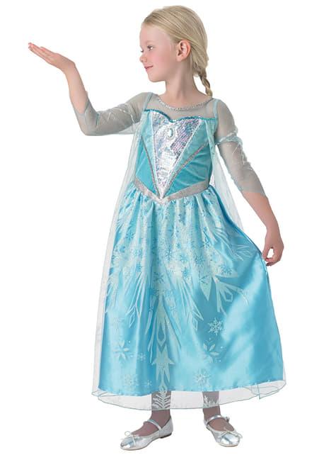 Fato de Elsa Frozen Premium para menina
