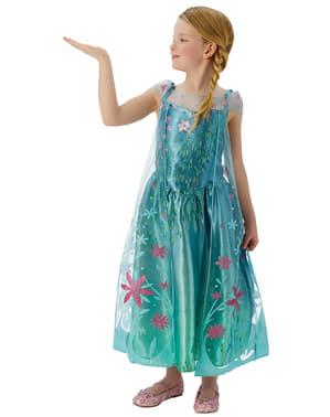 Detský kostým Elsa Frozen Fever