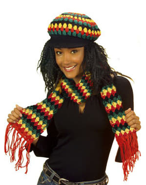 Reggae halstørklæde