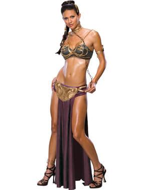 Seksikäs Prinsessa Leia Orja-asu aikuisille