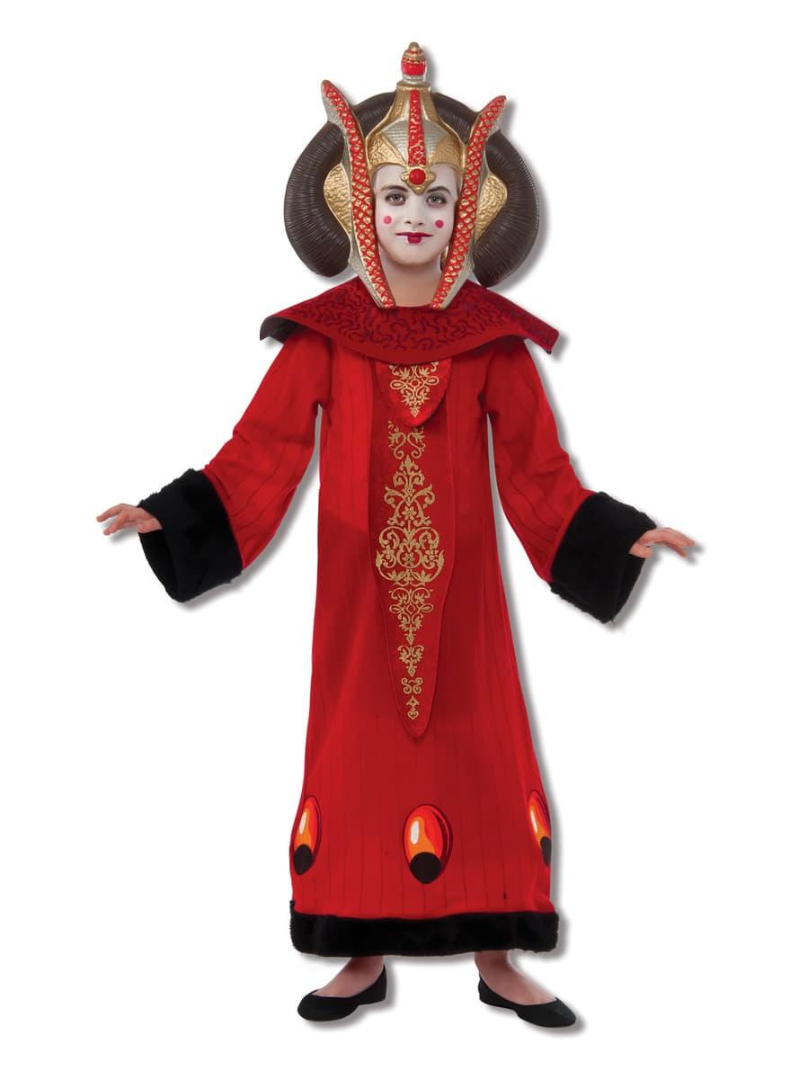 costume de reine padm amidala haut de gamme pour fille funidelia. Black Bedroom Furniture Sets. Home Design Ideas