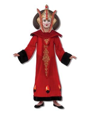 Deluxe Dronning Padme Amidala Barnekostyme