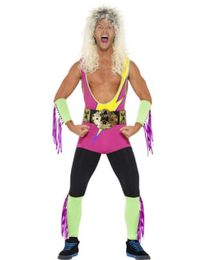 Mens Retro Wrestler Costume