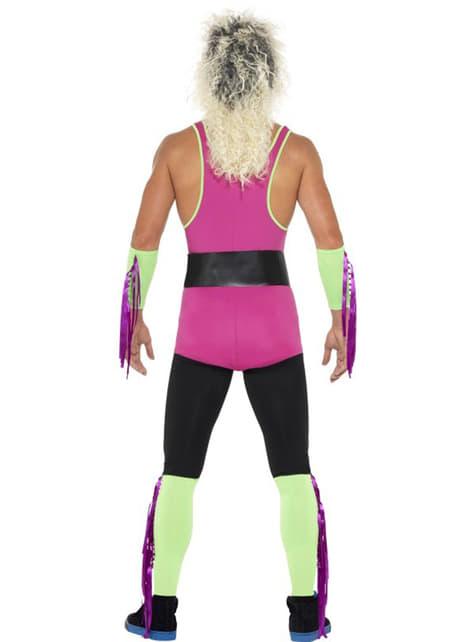 Retro worstelaar kostuum voor mannen