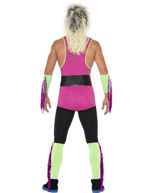 Disfraz de luchador retro para hombre