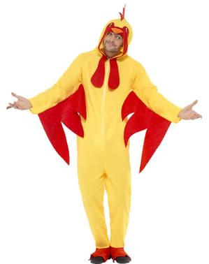 Déguisement poulet pour adulte