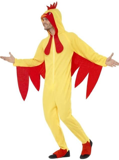 Disfraz de gallo para adulto - adulto