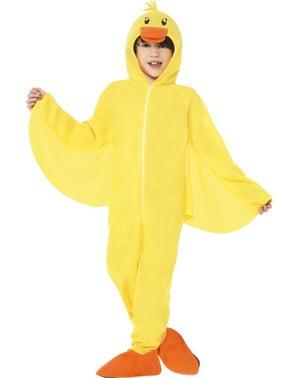 Dětský kostým žlutá kachnička