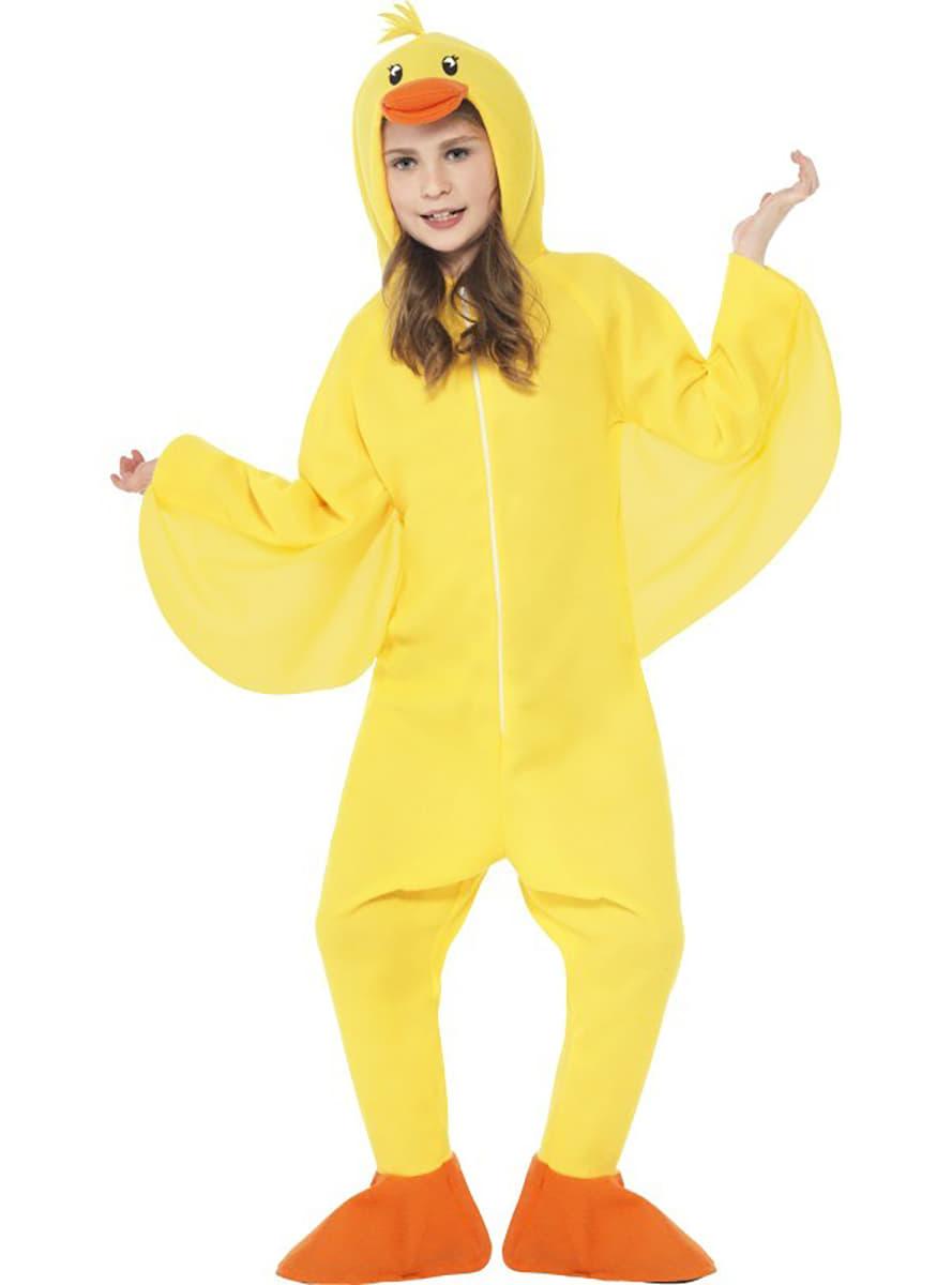 Childrens Yellow Duck Costume