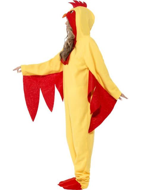 Disfraz de gallo para adulto - Carnaval