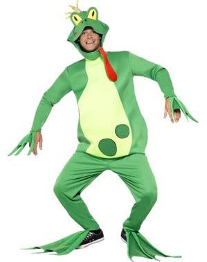 Disfraz de príncipe rana para hombre
