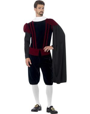 Kong Tudor kostume til mænd