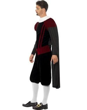 Disfraz de rey medieval tudor