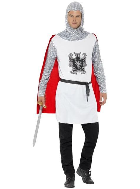 Костюм середньовічного лицаря для чоловіків
