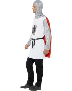 Klassisk Middelalder Ridderkostyme til Menn