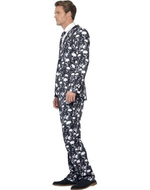Elegant skeleton suit for men
