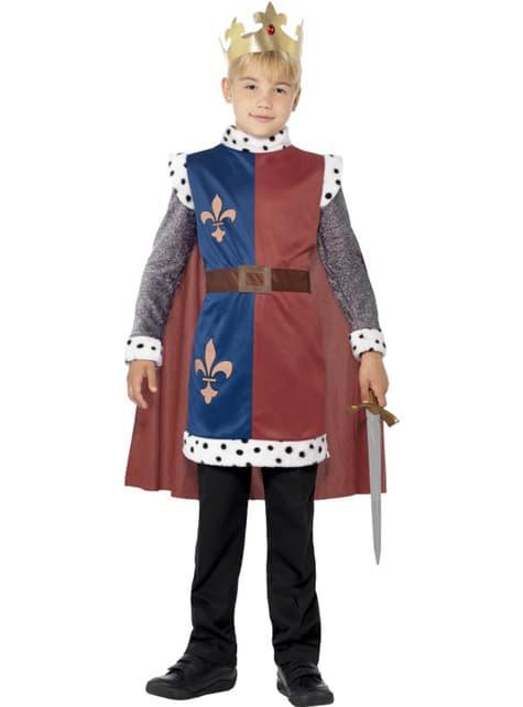 Déguisement de roi Arthur pour enfant