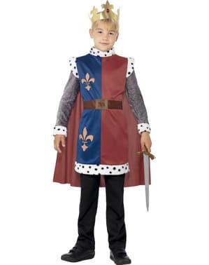 Fato de rei Arturo para menino