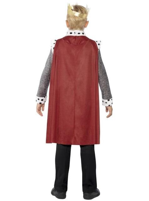 Disfraz de rey para niño Flor de Lis