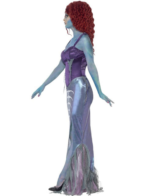 Womens Zombie Mermaid Costume
