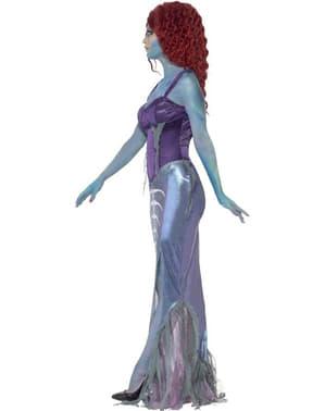 Costum de sirenă zombie pentru femeie