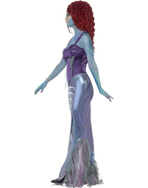 Womens Zombie Mermaid Costume