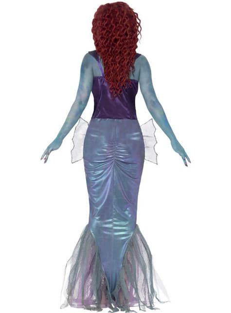 Disfraz de sirena zombie para mujer - original