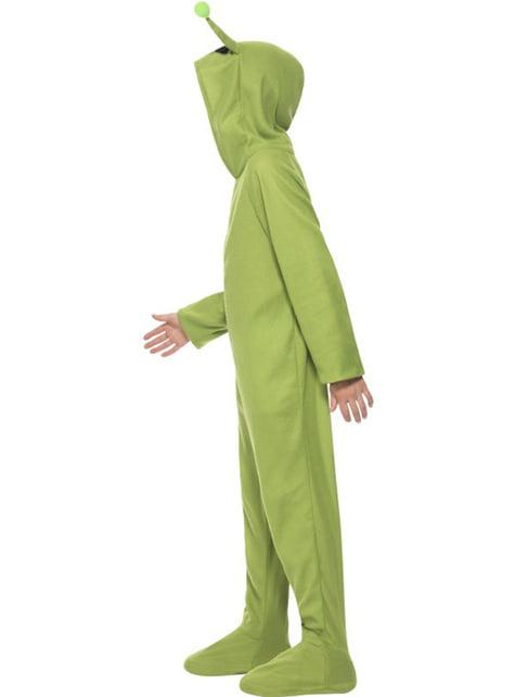 Disfraz de alien fiestero para niño