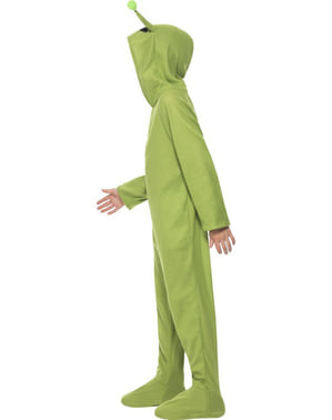 Marsmensch Kostüm grün