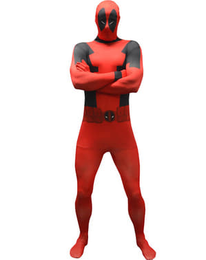 Disfraz de Deadpool clásico Morphsuit