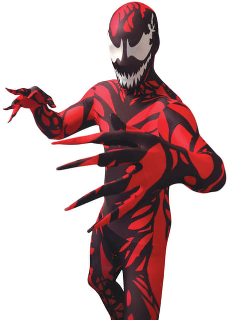 Carnage Morphsuit Costume