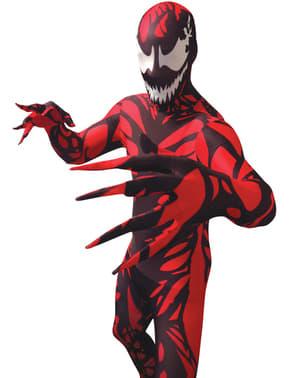 Morphsuit Carnage kostume
