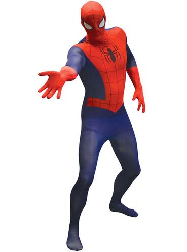 spiderman kost m f r herren classic morphsuit 24h versand. Black Bedroom Furniture Sets. Home Design Ideas