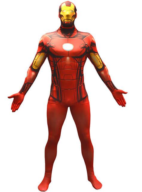 Disfraz de Iron Man Morphsuit - adulto