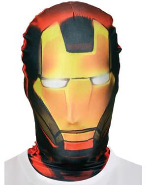 Iron Man naamio sukka-asuun