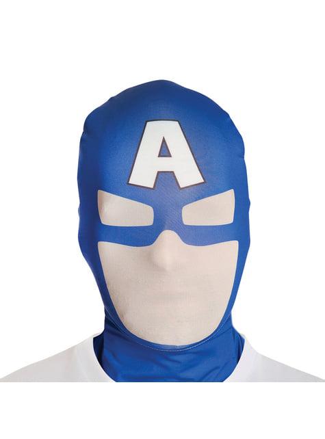 Máscara de Capitán América Morphsuit