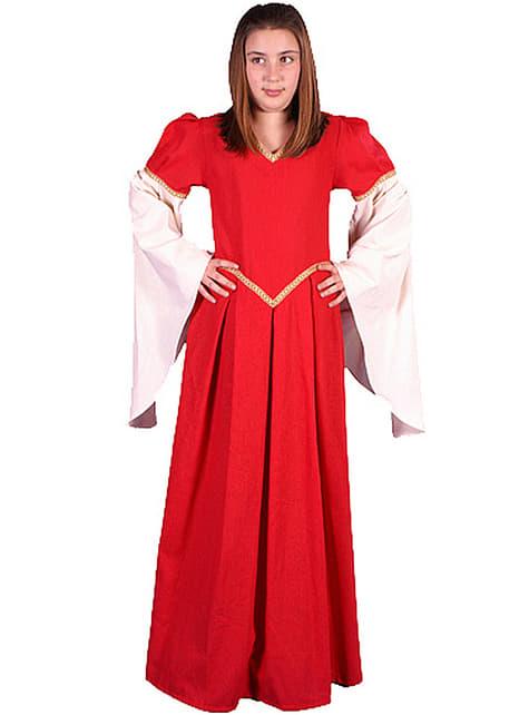 Disfraz de Nesa medieval para niña - niña