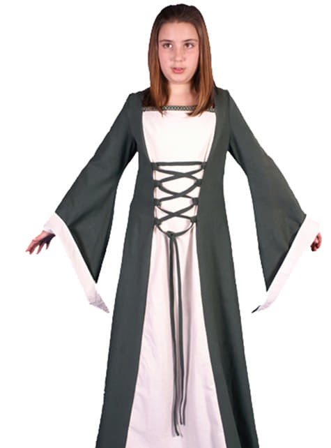 Girls medieval Maira costume