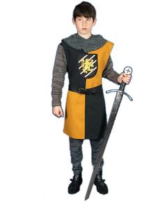 Sobrevesta medieval Aidan para adolescente