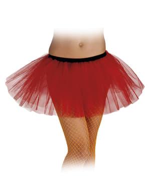 Tutu rot für Damen Classic