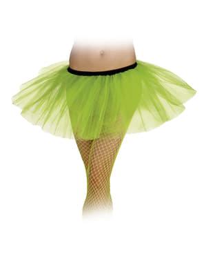 Tutu verde néon para mulher