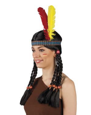 Coiffe indien de la tribu